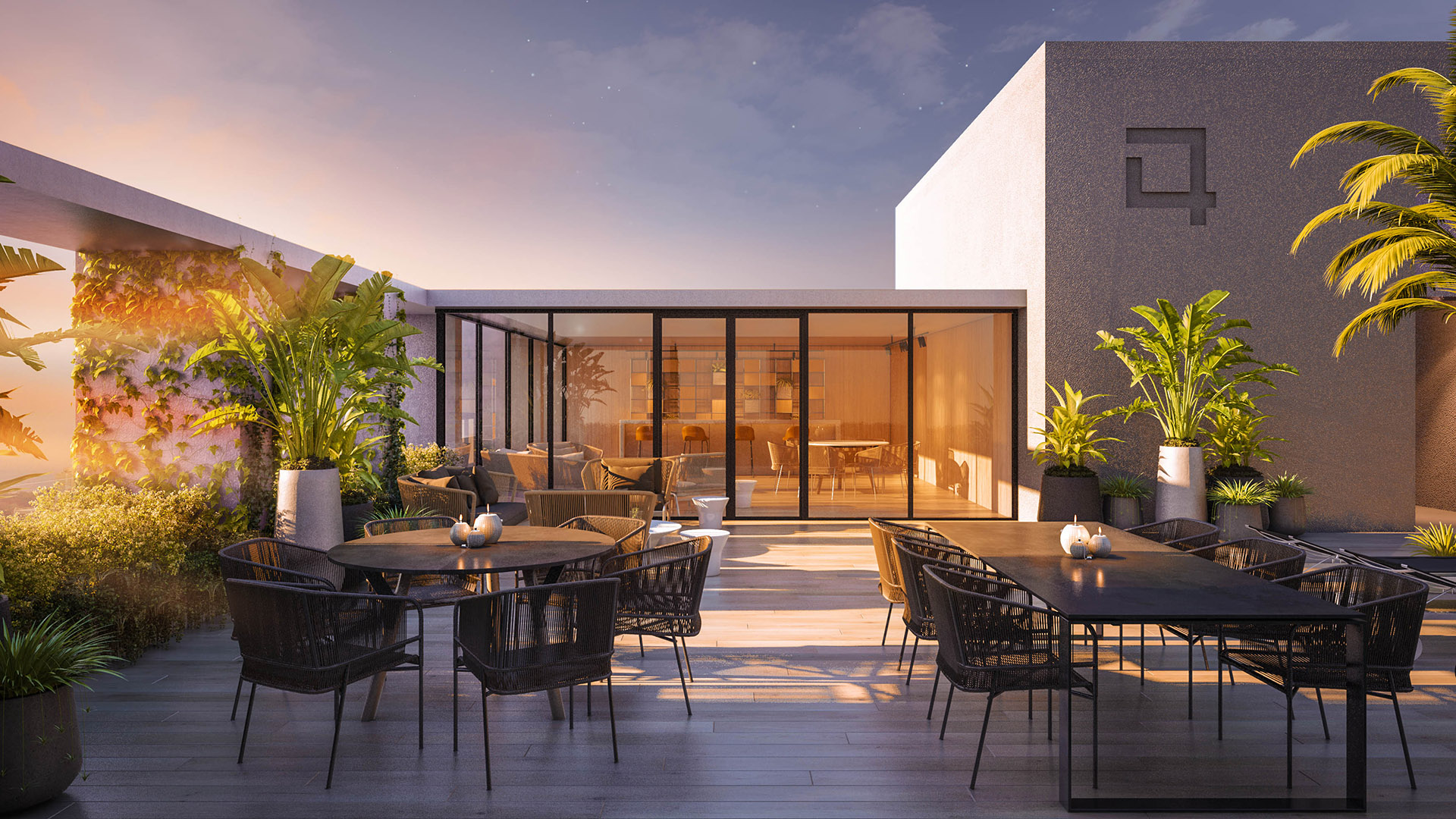 Quatrium: Terrace Lounge
