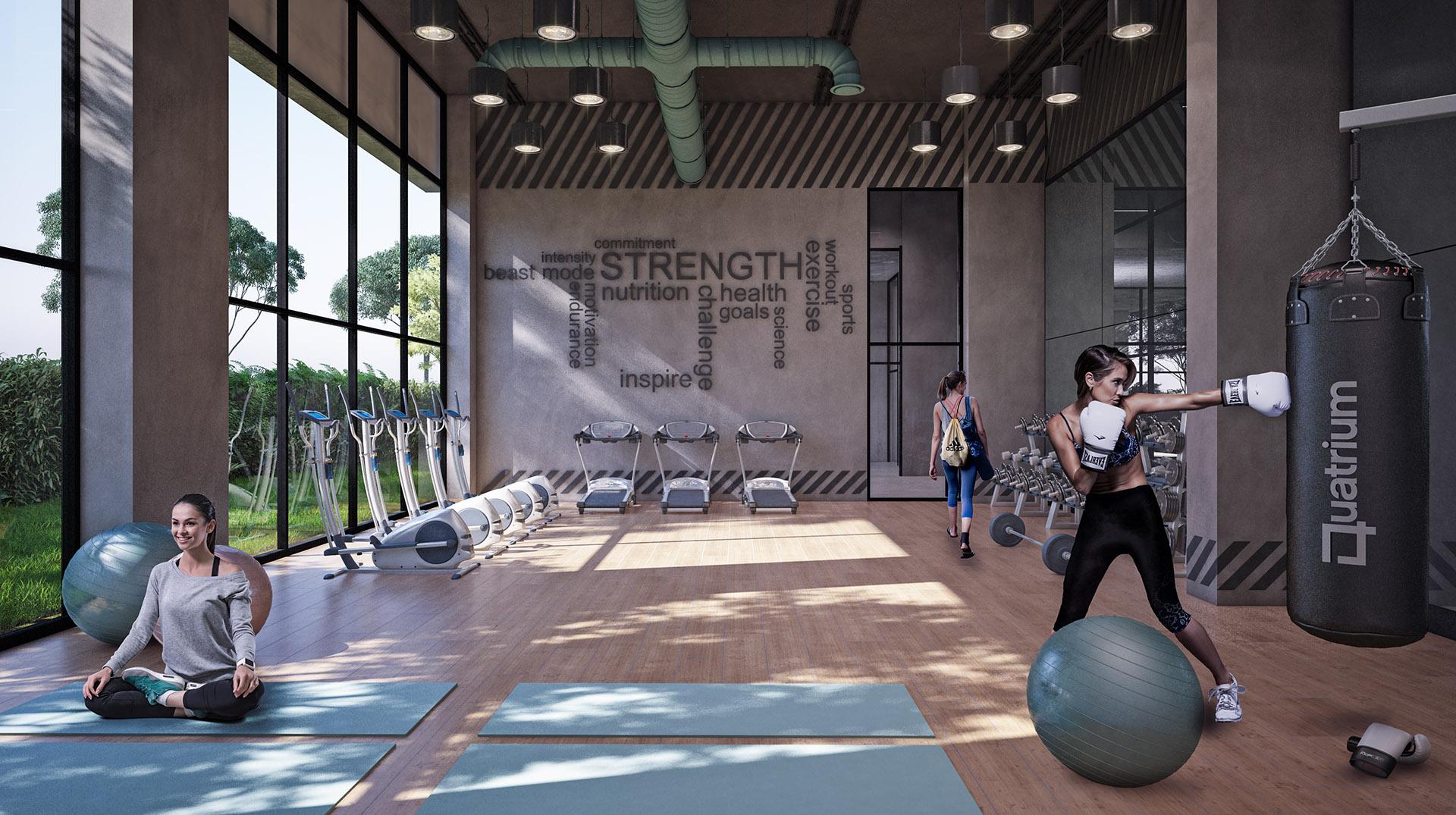 Quatrium: Gym